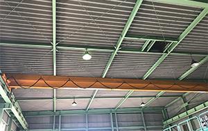 屋根部分、全面施工前